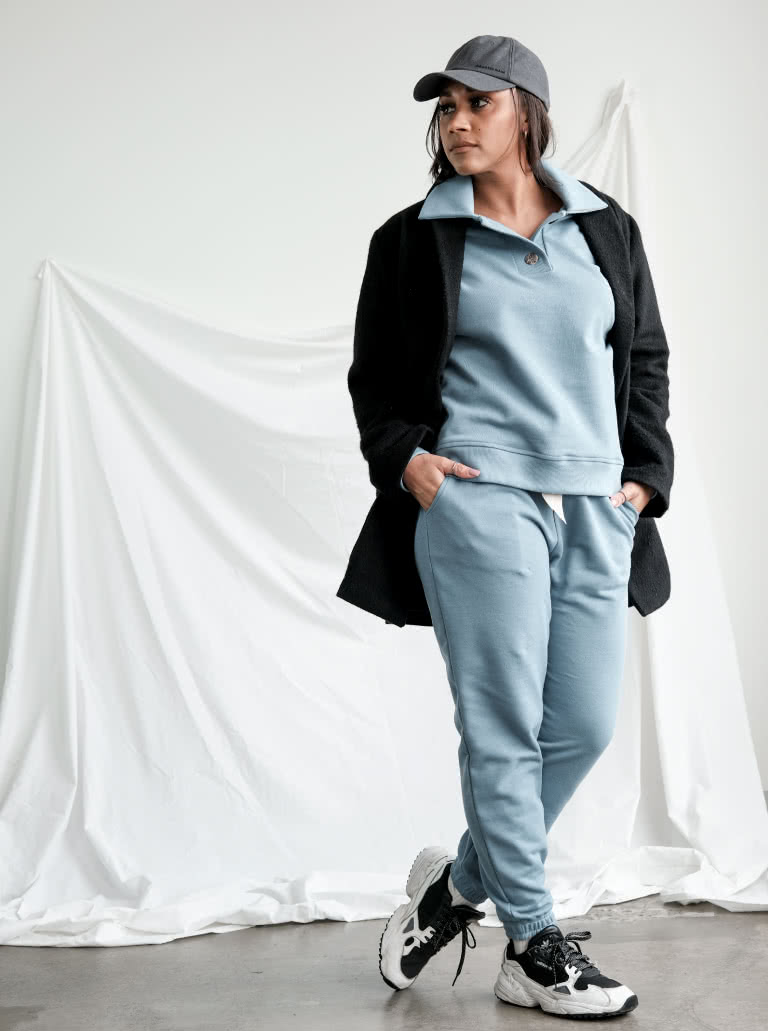 Ernie Knit Pant By Style Arc - A leisure wear essential the Ernie Knit Pant is designed for comfort. Pair with the Bert Knit Top and sneakers for casual days.