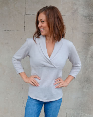 Style Arc's October 2019 Freebie - Kendall Knit Top Pattern