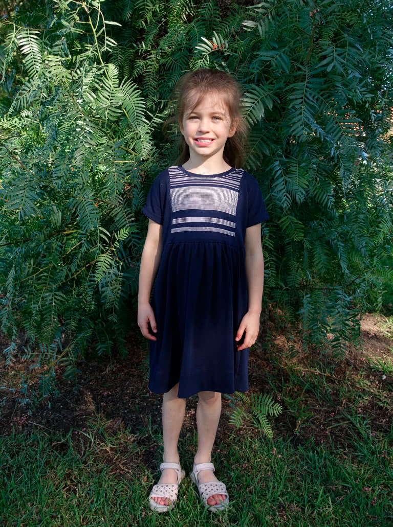 Lacey Kids Dress- Available in sizes 1-8