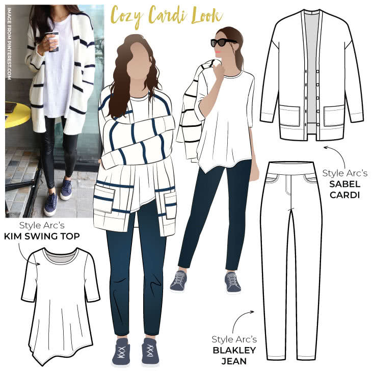 New Discount pattern Bundle- Cozy Cardi
