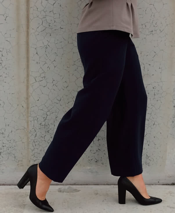 Fifi Woven Pant Sewing Pattern By Style Arc - Pull-on wide leg pant sewing pattern for woven fabrics