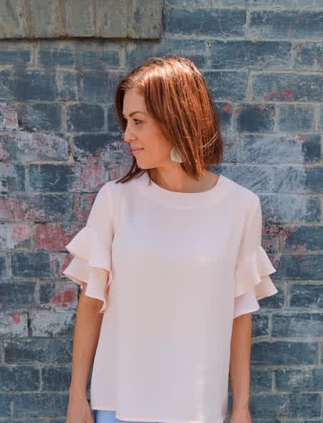 Harmony Woven Top Sewing Pattern By Style Arc