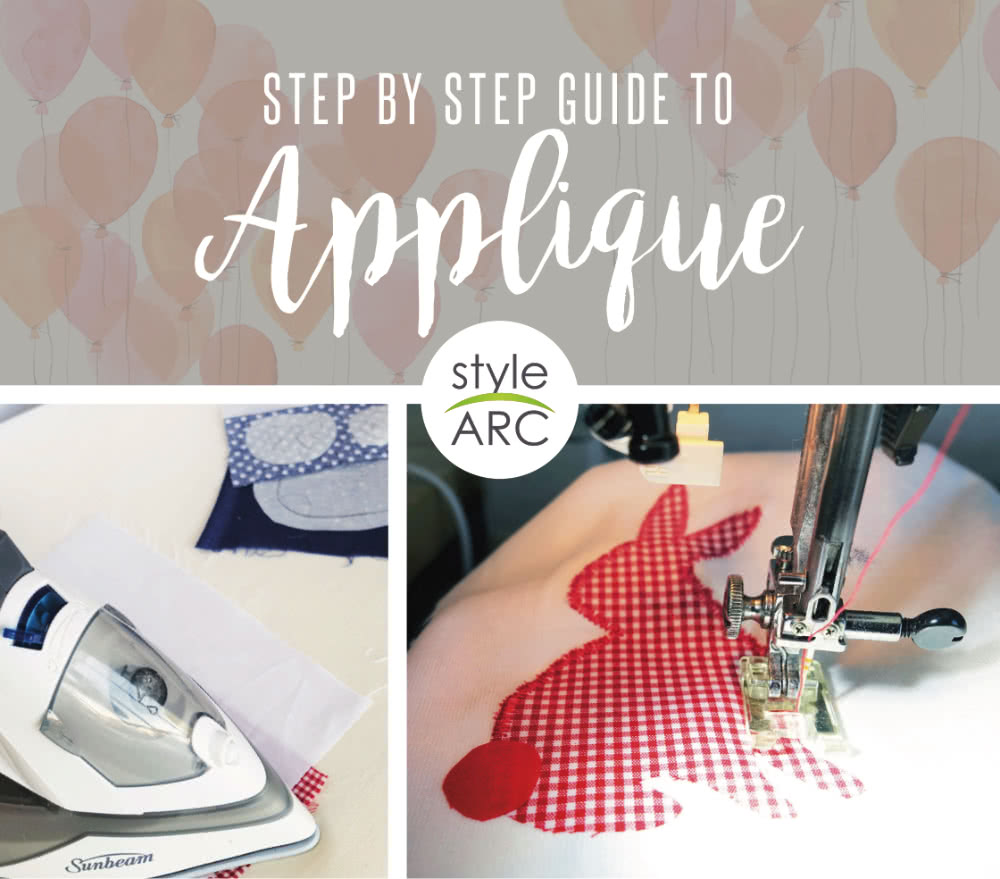 how to applique-tutorial-by-style-arc