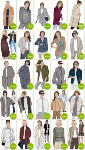 Jacket, Vest & Coat Sewing Patterns