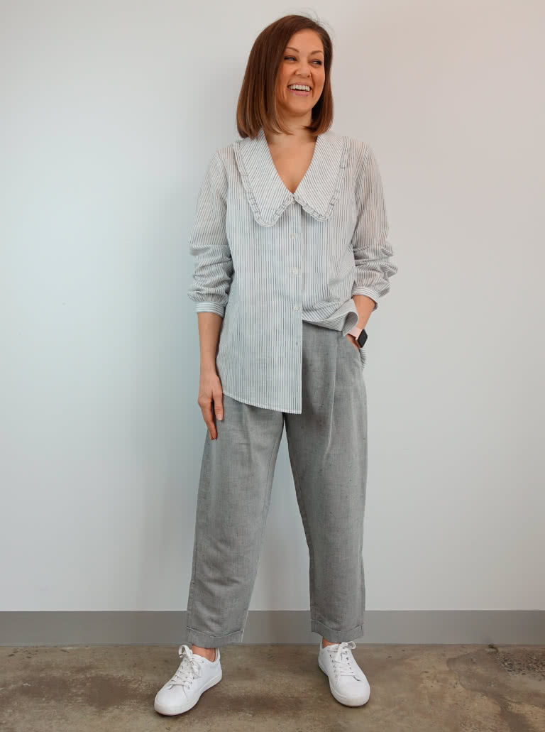 Kennie and Billie Bundle By Style Arc - In our new discount pattern bundle you'll receive two smart casual styles, The Kennie Woven Shirt and Billie Woven Pant.