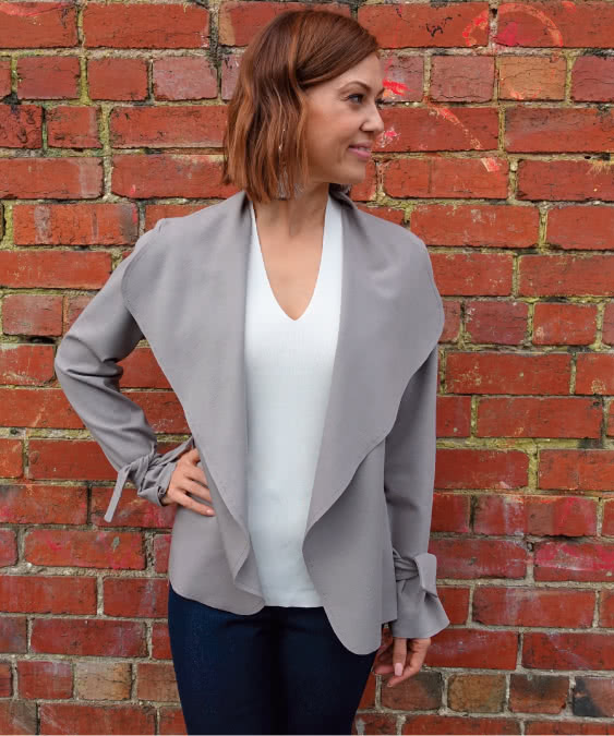 Meghan Jacket Sewing Pattern By Style Arc