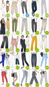 Pants & Shorts Sewing Patterns