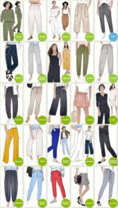 Pants & Shorts Sewing Patterns