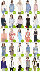 PDF Blouse & Shirt Patterns