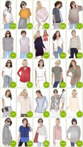 PDF Cardigan & Top Patterns