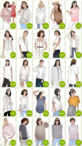 PDF Cardigan & Top Sewing Patterns