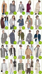 PDF Jacket, Vest & Coat Sewing Patterns