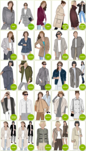 PDF Jacket, Vest & Coat Patterns