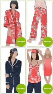 PDF Loungewear Sewing Patterns