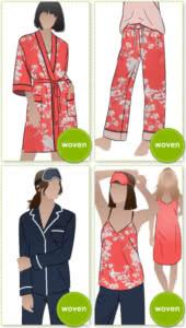 PDF Loungewear Sewing Patterns