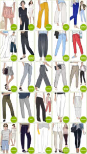 PDF Pants & Shorts Sewing Patterns