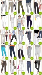 PDF Pants & Shorts Patterns
