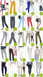 PDF Pants & Shorts Patterns