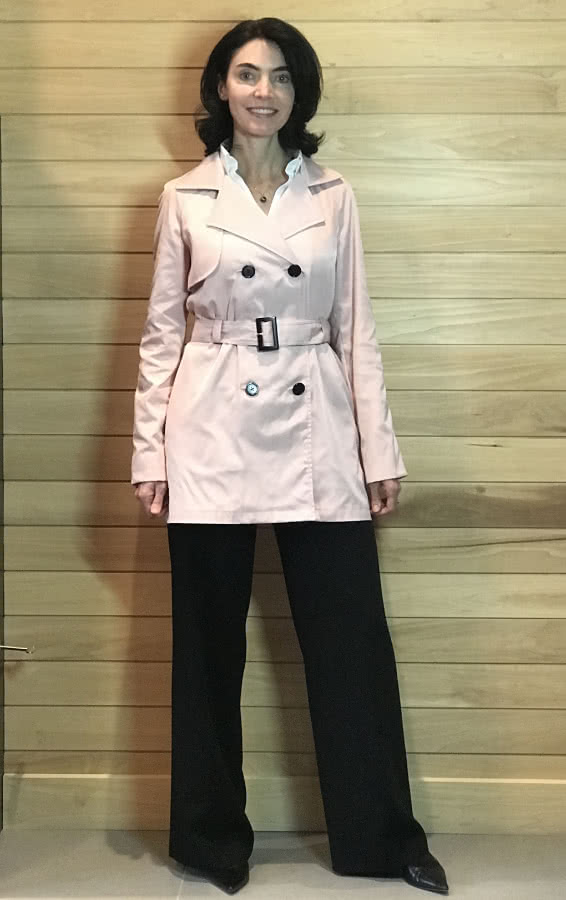 Prue Trench Sewing Pattern By Pamela And Style Arc - All weather double breasted Trench coat
