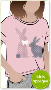 Rabbits Applique Template By Style Arc - Rabbits applique template pattern