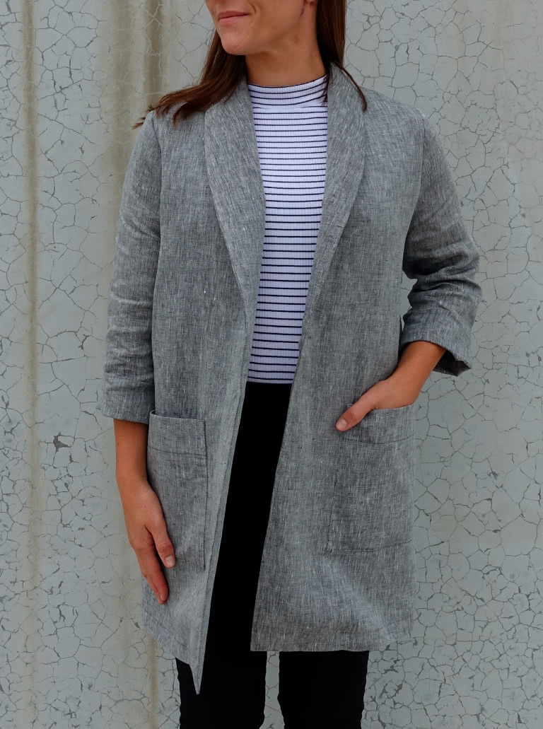 Relaxed Blazer Look Sewing Pattern Bundle By Style Arc