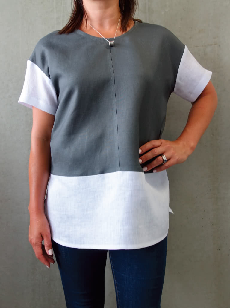 Scarlett Top Sewing Pattern By Style Arc