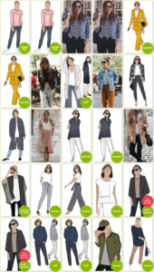 Sewing Pattern Outfits