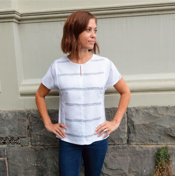 Sian Combo Top Sewing Pattern By Style Arc