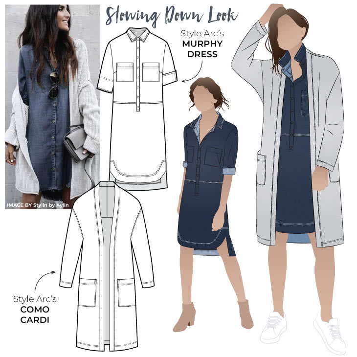 "Slowing Down Look Sewing Pattern Bundle By Style Arc - Looking for a relaxed but stylish look? Why not opt for our discounted ""Slowing Down"" Get the Look, with its great pattern staples perfect for any wardrobe!"
