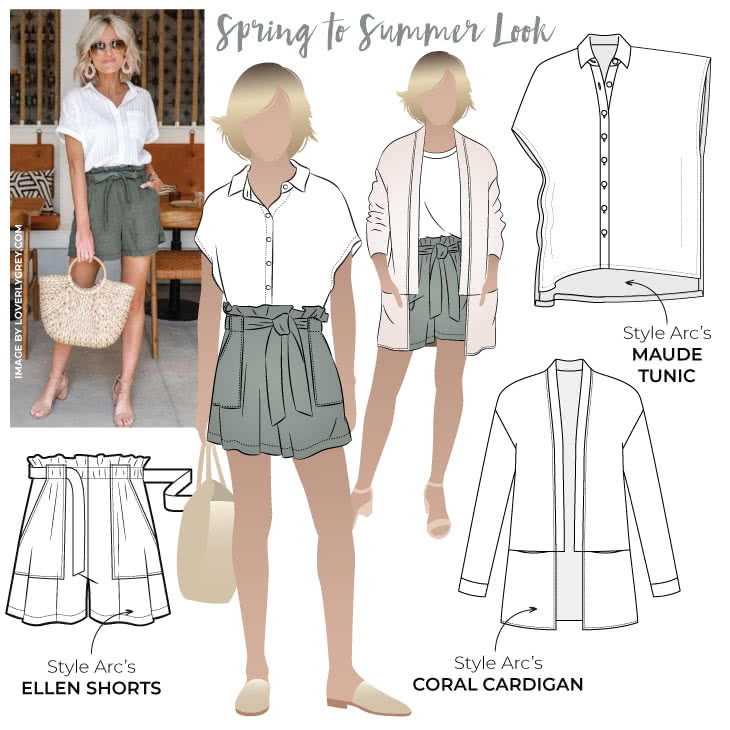 Spring to Summer Look Sewing Pattern Bundle By Style Arc - Step into spring with our latest discounted pattern bundle Spring to Summer. In this refreshing pattern bundle you will get three wonderful patterns that will put some pep into your step.