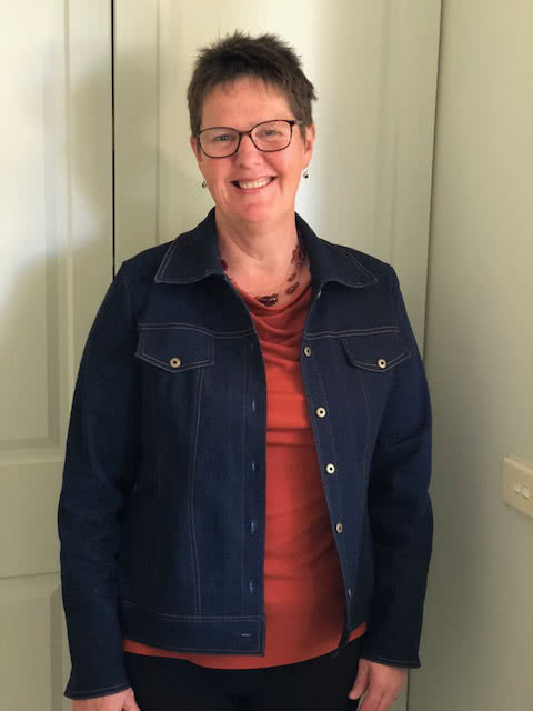 Stacie Jean Jacket Sewing Pattern By Diane And Style Arc - Trendy jean, denim or woven jacket