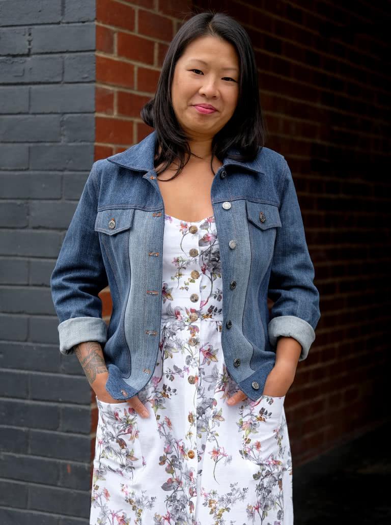 Stacie Jean Jacket Sewing Pattern By Style Arc