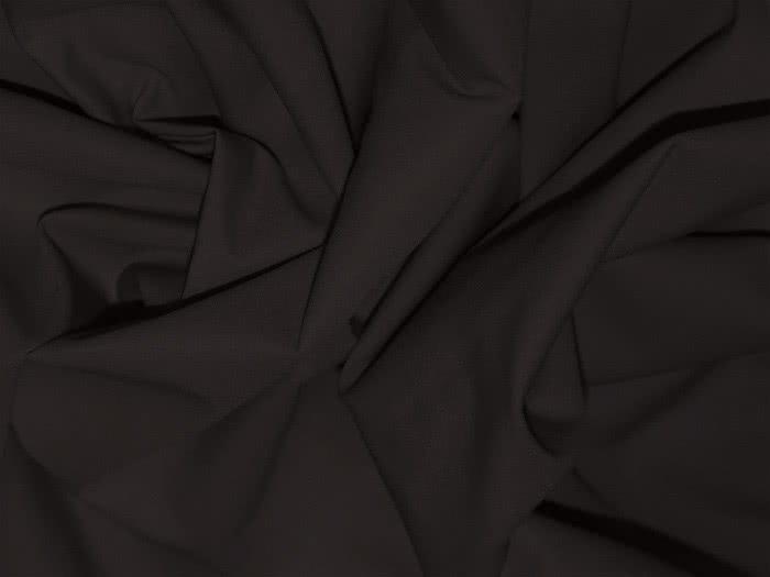 Stretch Bengaline - Kalamata Fabric By Style Arc - Try the famous Style Arc stretch bengaline fabric in coffee. This a very dark licorice brown, almost black colour.