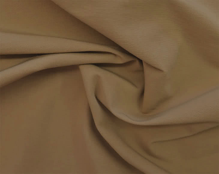 Stretch Bengaline - Latte Fabric By Style Arc - Try the famous Style Arc stretch bengaline fabric in latte. This a caramel colour.