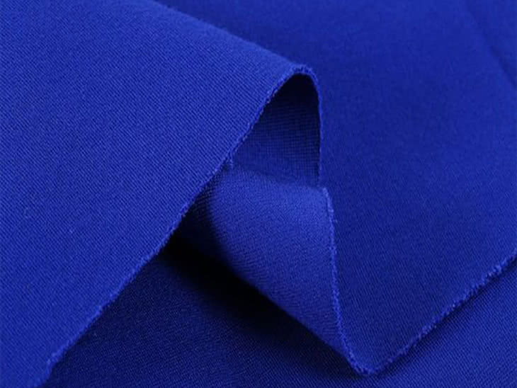 Stretch Bengaline - Nautical Blue Fabric By Style Arc - Try the famous Style Arc stretch bengaline fabric in nautical blue. Why not have some fun with this vibrant blue summer colour?