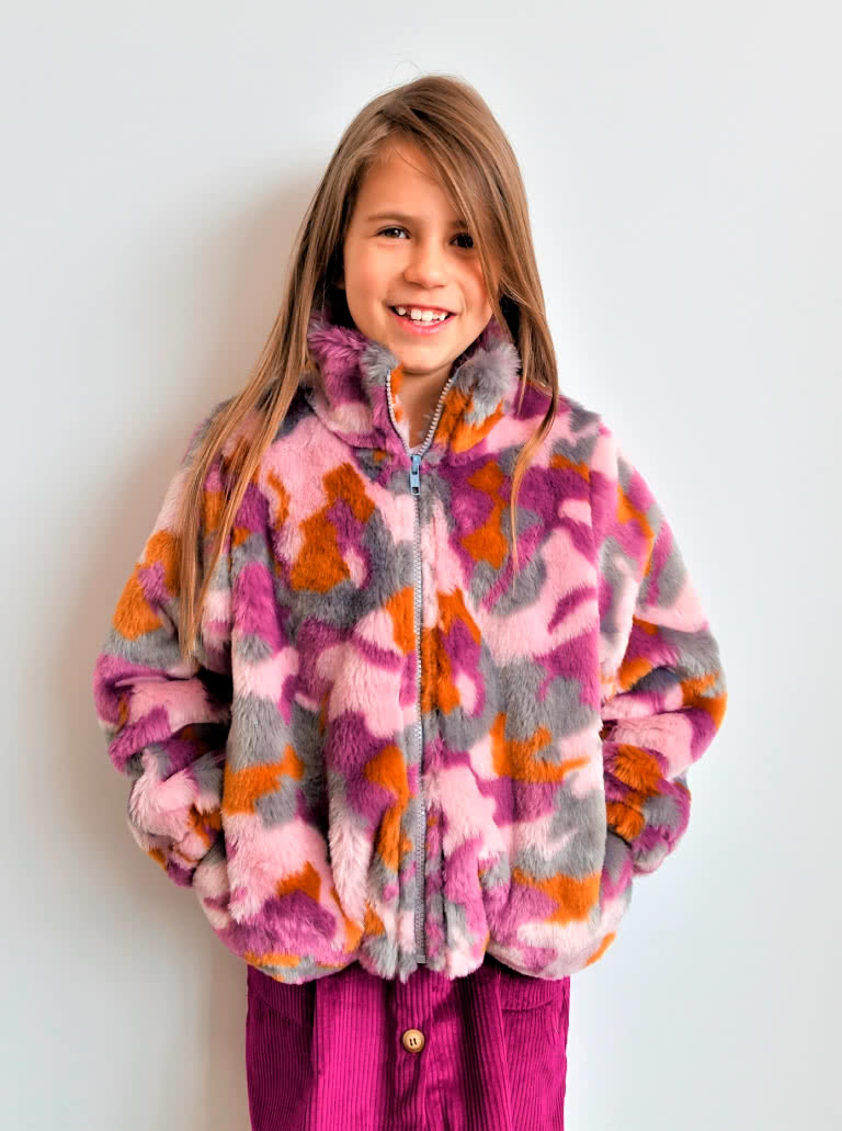 Teddy Kids Jacket By Style Arc - Great winter jacket for your little ones, make it lined or unlined to suit their needs