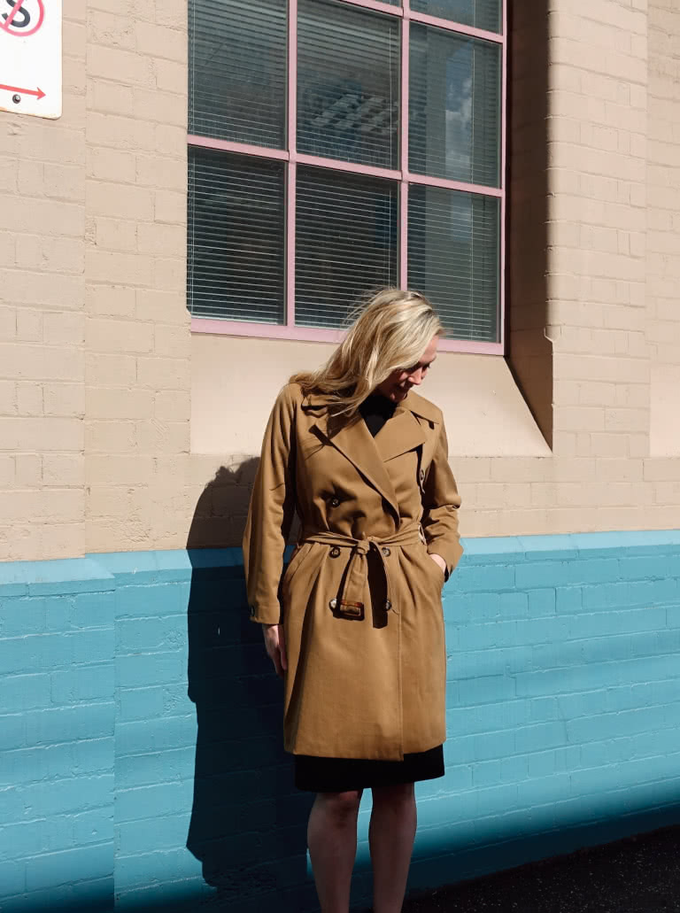 Tracy Trench Coat