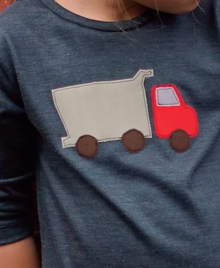 Trucks and Tractors Applique Template