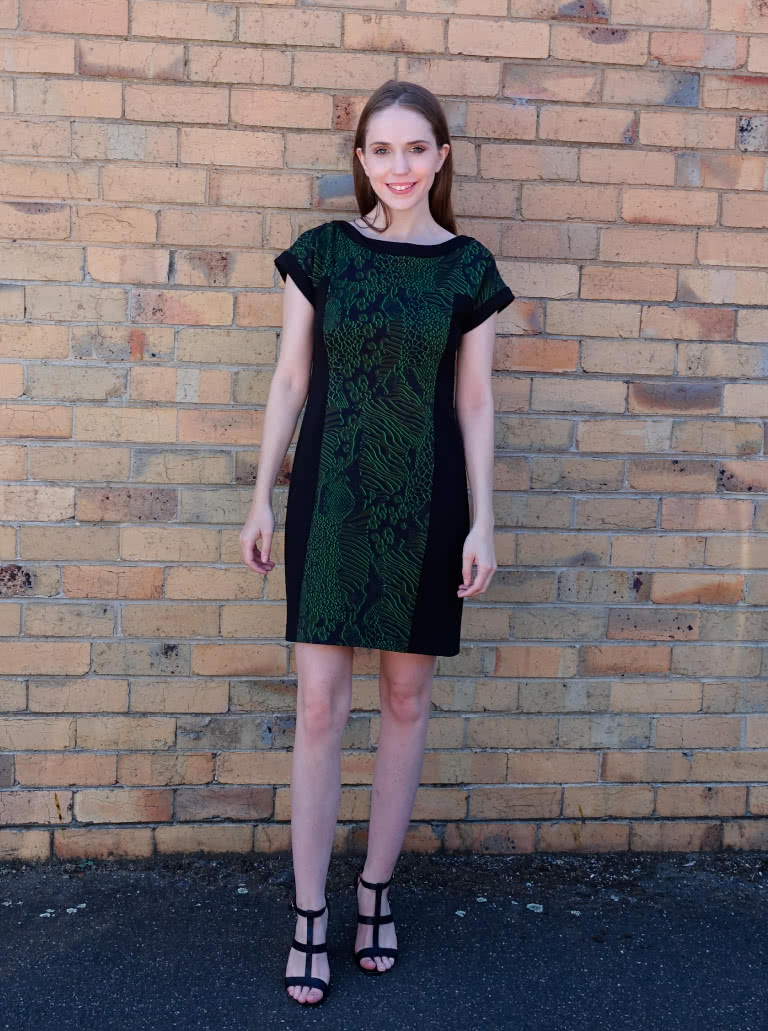 Twiggy Knit Dress