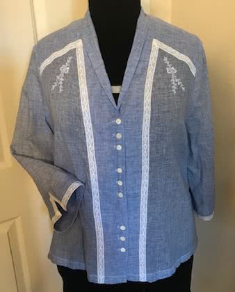 Victoria Blouse Sewing Pattern By Eileen And Style Arc - Fabulous blouse with interesting design lines