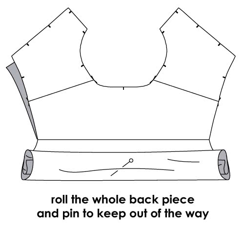 How to Sew a Neat Double Shirt Yoke - Step 4